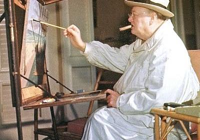 Churchill: An Inspiring Life in Photographs, Words and Paintings